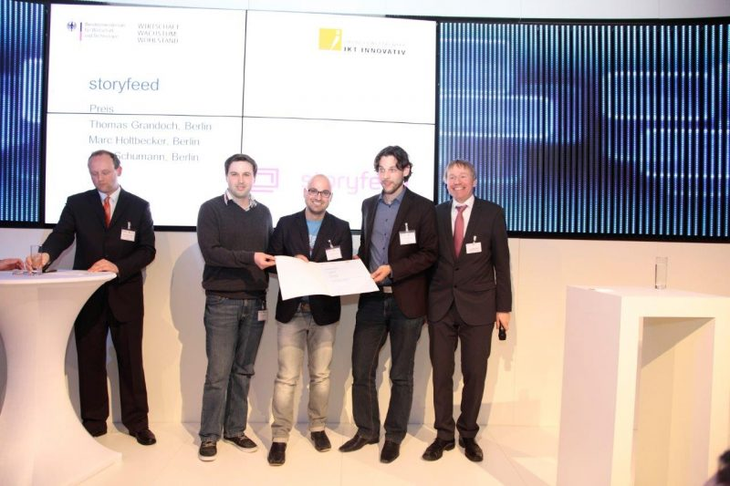 IKT Innovativ Preisverleihung - Foto: BMWi/kloepperfotodesign